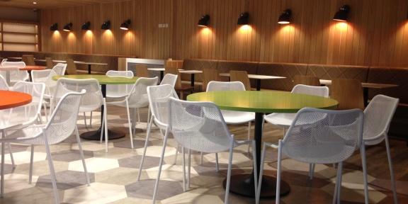Harrods Staff Food Court